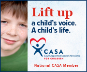 Lift up a child's voice. A child's Life.